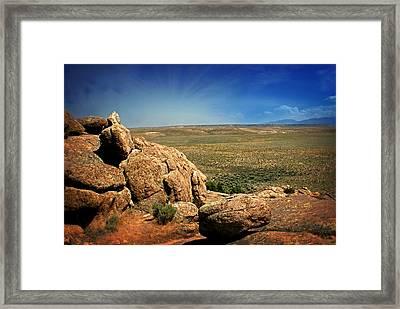 Dubois Landscape Framed Print