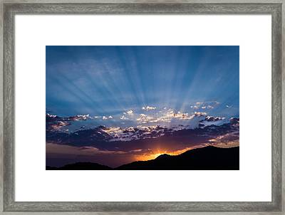 Dubrovnik Beams II Framed Print