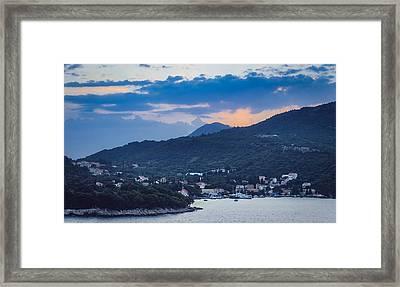 Dubrovnik Sunset II Framed Print by Matti Ollikainen