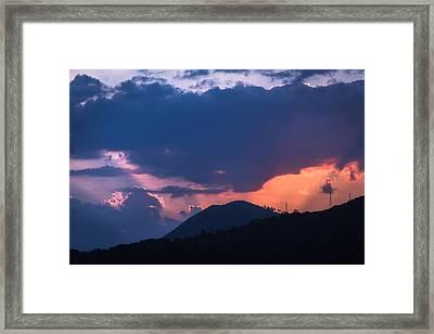 Dubrovnik Sunset Framed Print by Matti Ollikainen