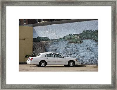 Dubuque Framed Print by Christian Heeb