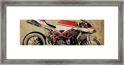 Ducati 1198 Sbk 2009 Framed Print by Pablo Franchi