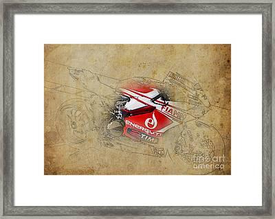 Ducati 1199 Panigale R Wsbk 2013 Framed Print by Pablo Franchi