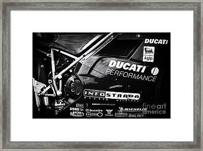 Ducati Performance Framed Print