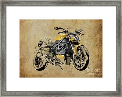 Ducati Streetfighter 848 2012 Framed Print by Pablo Franchi
