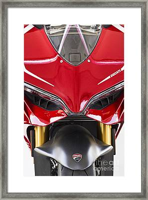 Ducati-unplugged V11 Framed Print