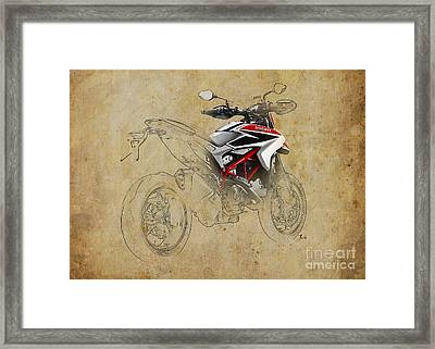 Ducati Xii Framed Print by Pablo Franchi