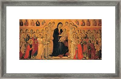 Duccio Di Buoninsegna, Military Parade Framed Print by Everett