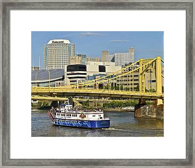 Duchess Cruise Pittsburgh Framed Print
