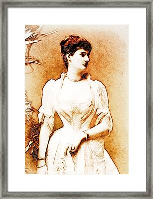 Duchess Of Leinster Framed Print