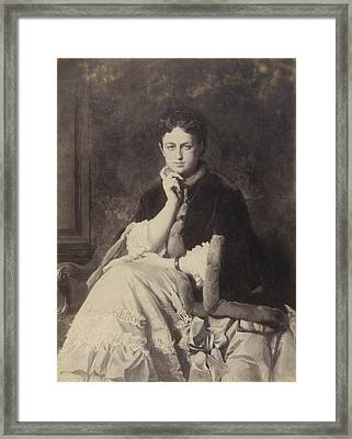 Duchess Of Uzes Framed Print by Celestial Images