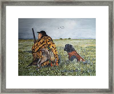 Duck Hunters Framed Print