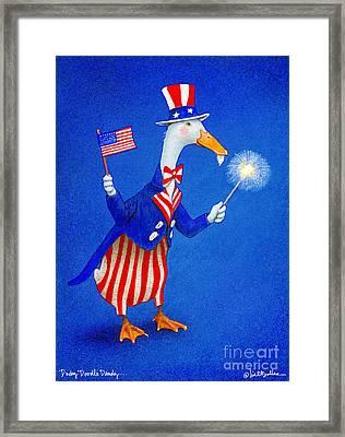 Ducky Doodle Dandy... Framed Print