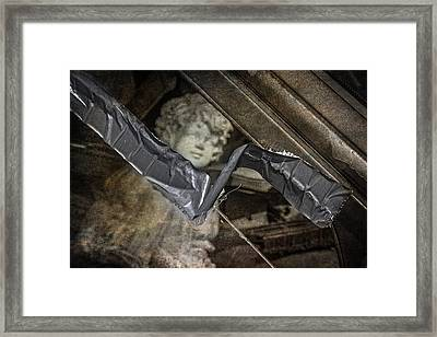 Duct Tape Repair Framed Print by Dale Kincaid