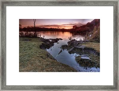 Duddingston Loch Framed Print