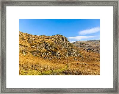 Duddon Valley Lake District Framed Print by Trevor Kersley