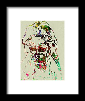 The Dude Framed Prints