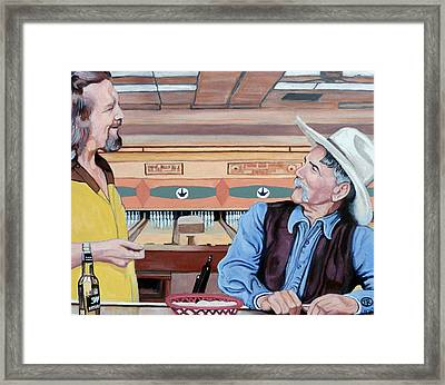 Dude You've Got Style Framed Print