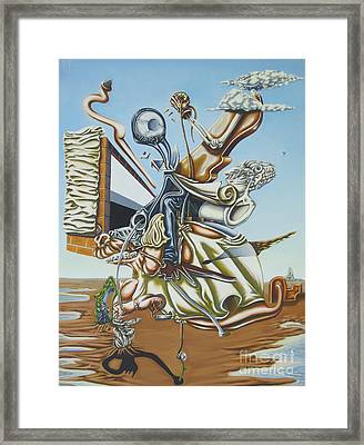 Due To Rapid Advances In Modern Technology... Framed Print by Mack Galixtar