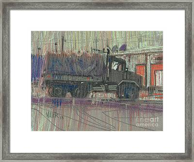 Duece And A Half Framed Print by Donald Maier