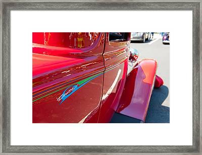 Duece Framed Print