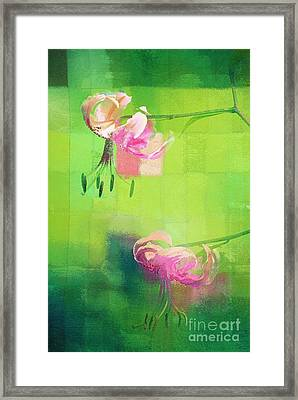 Duet - J052064173gr Framed Print