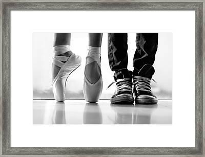 Duet Framed Print
