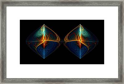 Duet Framed Print by Lea Wiggins