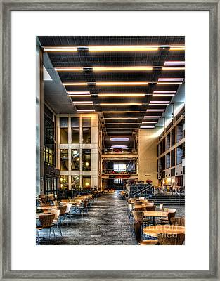 Duffield Hall Cornell University Framed Print
