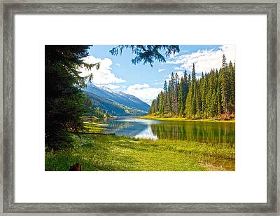 Duffy Lake 1 Framed Print by Randy Giesbrecht