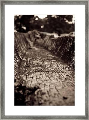Dug Out Canoe Framed Print