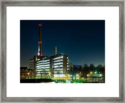 Duisburg Thyssen Krupp Factory Apostel Street Framed Print