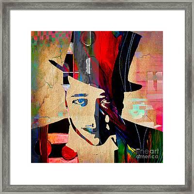Duke Ellington Collection Framed Print