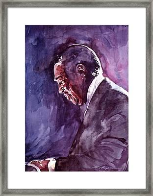 Duke Ellington Mood Indigo Sounds Framed Print by David Lloyd Glover