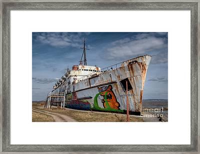 Duke Of Graffiti Framed Print by Adrian Evans