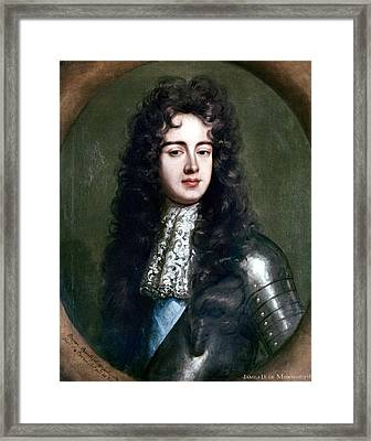 Duke Of Monmouth Framed Print by Granger