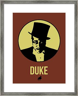 Duke Poster 1 Framed Print by Naxart Studio