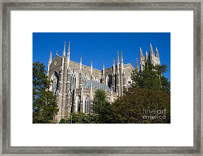 Duke University Chapel Framed Print