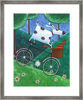 Dukes Bike Ride Framed Print