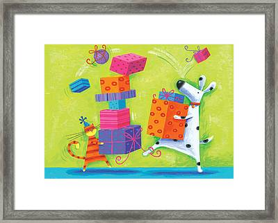 Dukes Birthday Framed Print