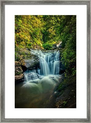 Dukes Creek Falls Framed Print