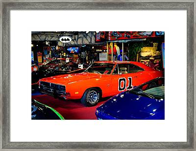 Dukes Of Hazzard Framed Print by Frozen in Time Fine Art Photography