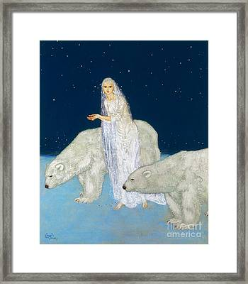 Dulac: The Ice Maiden, 1915 Framed Print by Granger