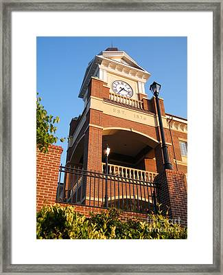 Duluth Clock Tower Framed Print