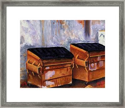 Dumpster No. 2 Framed Print by Blake Grigorian