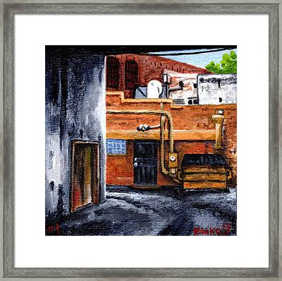 Dumpster No.1 Framed Print by Blake Grigorian