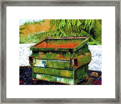 Dumpster No.4 Framed Print by Blake Grigorian