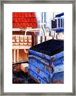 Dumpster No.5 Framed Print by Blake Grigorian