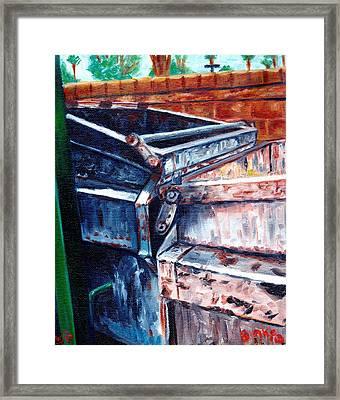 Dumpster No.8 Framed Print by Blake Grigorian