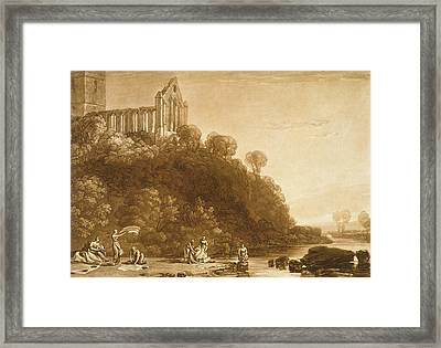 Dunblane Abbey Framed Print by Joseph Mallord William Turner